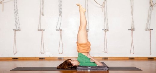 Sarvangasana – Shoulder Stand Pose