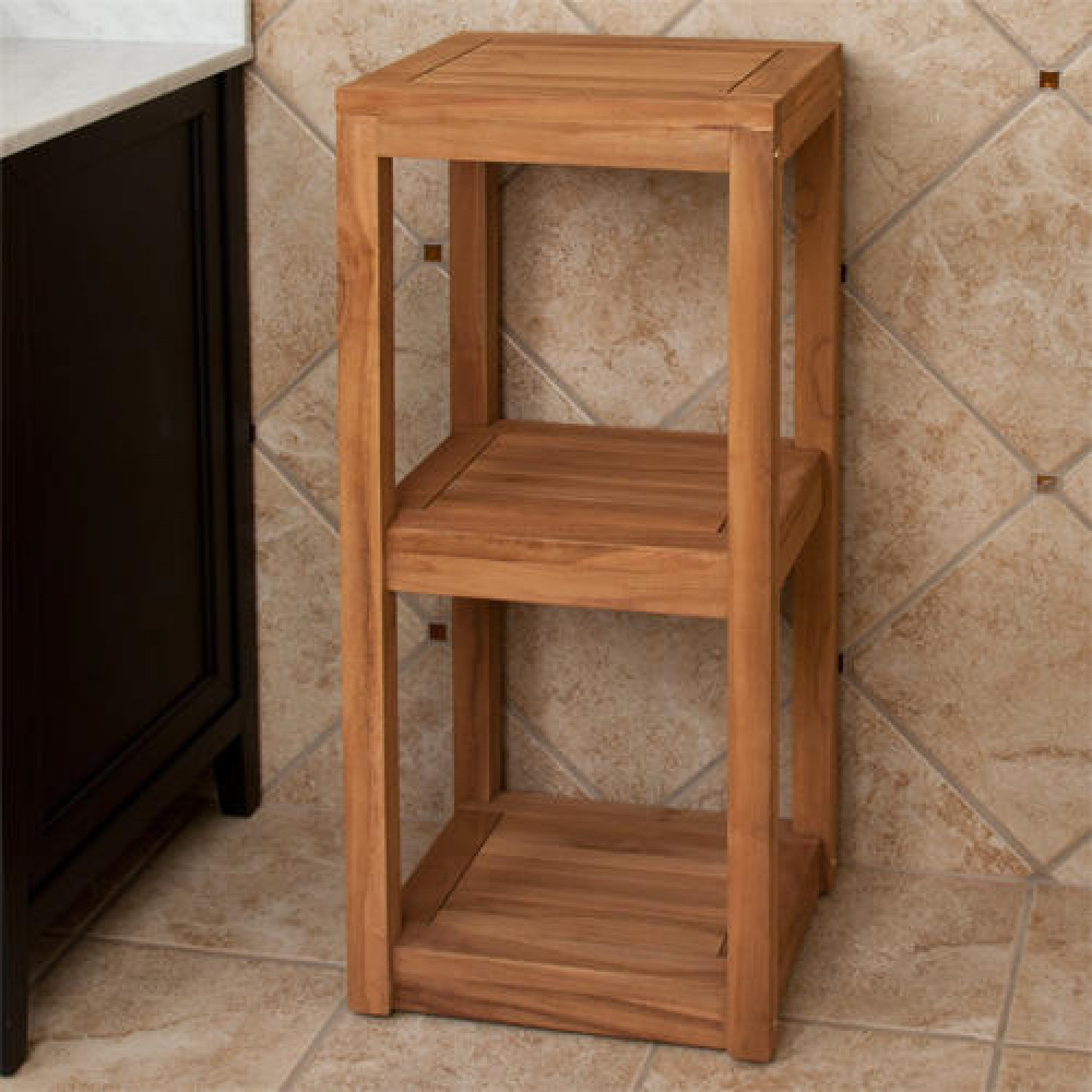 wood-towel-shelf | Netchanting